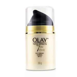 NEW Olay Total Effects 7 in 1 Normal Day Cream SPF 15 50g Womens Skin Care