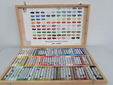 Ferrario Extrafine Soft Pastels Wooden Box Set 100pcs Full Sticks Made in Italy