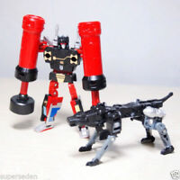 Transformers Masterpiece MP-15 Rumble And Jaguar For Soundwave MP-13