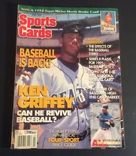 Sports Cards Magazine July 1995 Ken Griffey Jr. Cover