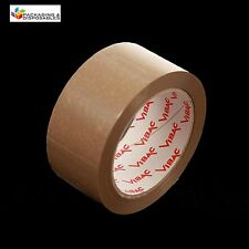 24 x 48mm x 66M BROWN BUFF VIBAC HOT MELT PACKING PARCEL TAPE