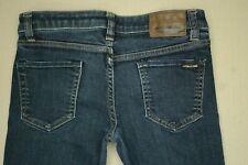 Volcom Vorta Slim Straight Jeans Men's Size 27 Medium Wash Denim