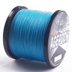 Blue 100 300M 500M 1000M 2000M PE Dyneema Dorisea Braided Fishing Line Kite Line