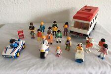 Playmobil Vintage Ambulance~ Police Car ~ Motor Cycle & Figures 1974 Upwards