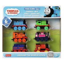 Thomas & Friends All Around the World 6 Pack TrackMaster Die-Cast Figure Set
