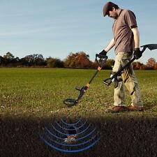 Detector De Metales LCD Oro Cazador sensible a prueba de agua subterránea Ajustable