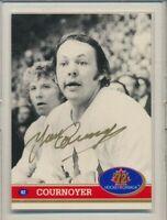 1991 Future Trades 72 Hockey Canada Gold AUTO 82 Yvan Cournoyer Team Canada