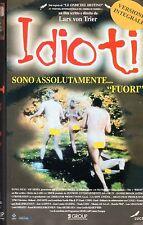 IDIOTI (1998) VHS Mi Group  Lars Von Trier Versione Integrale