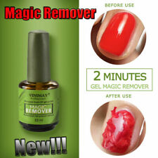 VINIMAY Nail Gel Magic Remover Soak Off Base Matte Top Coat Gel Polish Nail Arts