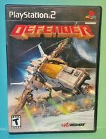 Defender Midway Complete  PS2 Playstation 2 Game 1 Owner FLAWLESS Mint Disc