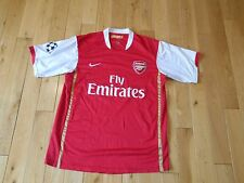 Nike Sphere Dry Cesc Fabregas #4 ARSENAL Soccer Club Team Jersey Kit Mens XL