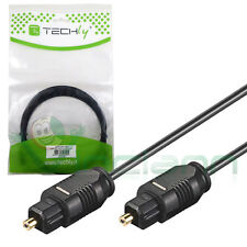 Cable techly Cable Optical Digital Audio Video Toslink 5m PR Apple TV 2 3 ac350
