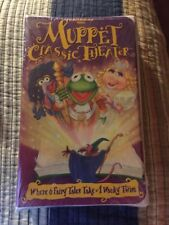Muppet Classic Theater (VHS, 1994) NEW SEALED