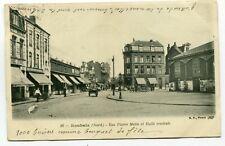 CPA - Carte Postale - France - Roubaix - Rue Pierre Motte et Halle Centrale - 19