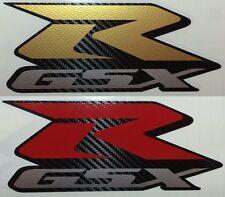 Suzuki Motorsport Aufkleber Emblem GSX R 600 750 1000 Carbon Folie Auto Motorrad