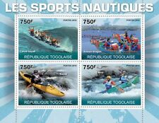 Water Sports Dragon-Ship, Kayak, Canoe Togo 2010 m/s Mi. 3659-62 MNH #TG10306a