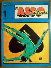 ASSO DI PICCHE COMICS N° 1/2  SERIE COMPLETA ANNO 1969  HUGO PRATT  (O19)