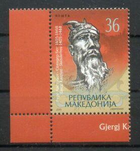 Albanian theme in the stamp of Macedonia, 2005, mi 347 MNH