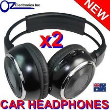 2 x Headphones wireless car DVD compatible with Toyota Ford Chrysler Pathfinder