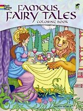Kids Adult Coloring Books Famous Fairy Tale Art Pattern Relaxing Stress Artwork