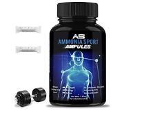 AmmoniaSport Athletic Smelling Salts - Ampules (25) -  Ammonia Inhalant - [Smell