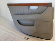 01-03 LS430 Left Driver Side Rear Back Door Interior Trim Panel Cover Wooded