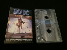 AC/DC ACDC BLOW UP YOUR VIDEO USA CASSETTE TAPE