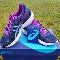 NEW! Asics Girl's Gel Contend Trainers - Size 13 UK Child  [32.5 EU]