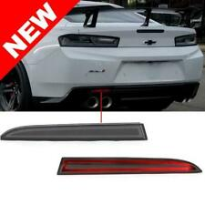 Chevy Camaro Smoked Helix LED Rear Reflectors Lights | Fits 2016 17 18 19 2020