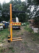 More details for manual pallet stacker