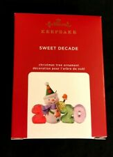 Hallmark 2020 Ornament Sweet Decade 1St In Series New In Box