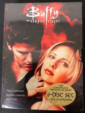 Buffy the Vampire Slayer - Season 2 (NEW & SEALED DVD, 6-Disc Set) FREE SHIPPING