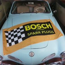 Bosch Flag Banner for vw split kdf bmw 2002 volkswagon samba m3 oval porsche 356