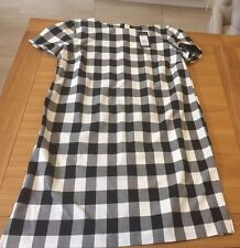 New with tags women's dress from New Look  size 14. Black white check
