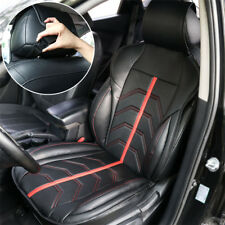 Breathable Car PU Leather Seat Accessories Front Driver Chair Cover Cushion Mat