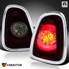 2011-2015 Mini Cooper Base S Red Smoke LED Rear Tail Brake Signal Lights