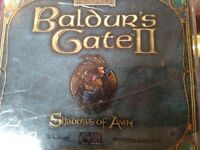 Baldur's Gate 2 II: Shadows of Amn Collector's Edition (PC, 2000) Disks