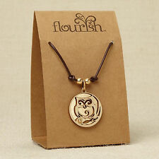 Owl Necklace ~ Flourish Jewelry Collection by Lauren Picciuna ~ 4044640