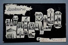 R&L Postcard:  Souvenir de Waterloo 1905, Illustrated Placename