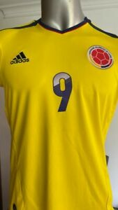 SELECCION COLOMBIA NATIONAL TEAM V09665 2013 HOME FIFA QUALIFIER JERSEY MEDIUM