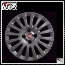 "Fiat Punto Evo 2009 Kit 4 Copricerchi coppa ruota 15"" brunita cod 1303NR L/ROSSO"