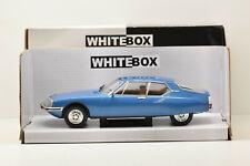 CITROEN SM 1970 BLUE WHITEBOX 1/24 NEUVE EN BOITE