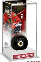 Duncan Keith Chicago Blackhawks Deluxe Tall Hockey Puck Case - Fanatics