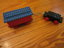 LEGO Eisenbahn alt 4,5V Motor +  Batteriewaggon + Lokräder + Kabel getestet 13