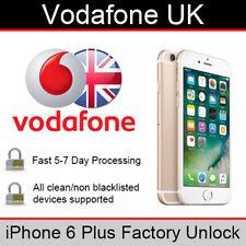 Vodafone UK iPhone 6 Plus Factory Unlocking Service
