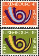 Luxembourg 1973 Europa/CEPT/Communication/Posthorn/Arrows/Animation 2v (ex1059)