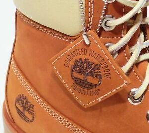 Timberland Boots YOUTH JUNIORS Orange Thanksgiving Dinner WATERPROOF UNISEX KID