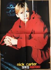 BACKSTREET BOYS / NICK CARTER Original Vintage TV Hits Magazine Poster