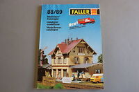 X024 FALLER Train catalogue car system Ho N Z 1988 89 222 pages 29,7*21,3 cm F