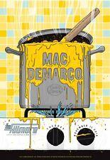 Mac DeMarco  | BGF1303 | Orig 2014 Concert Poster | Art by Matthew Fleming